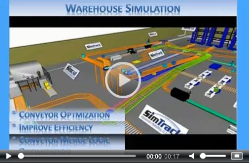 distribution center simulation