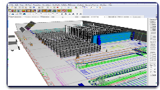 Warehouse Facility Layout Design Simulation