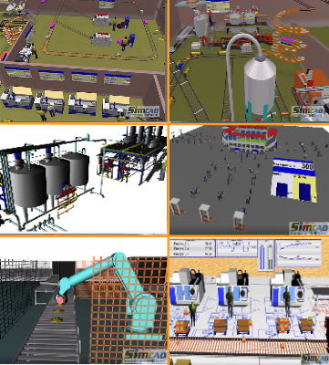 Manufacturing Simulation Images