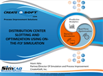 Distribution Center Slotting And Optimization Using On-The-Fly Simulation