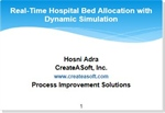 Real-Time Hospital Bed Allocation with Simulation