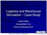 Logistics and Warehouse Simulation – Case Study