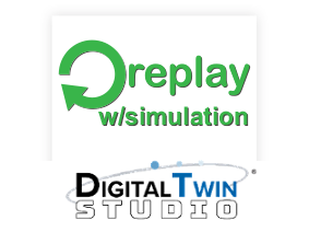 SimTrack Replay with Simulation