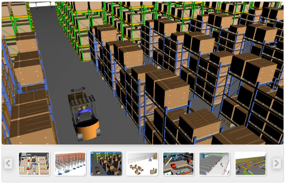 Warehouse Simulation 3d Dynamic Simulation Software For