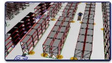 Warehouse Operational Layout Simulation Warehouse